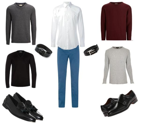 smart menswear in winter