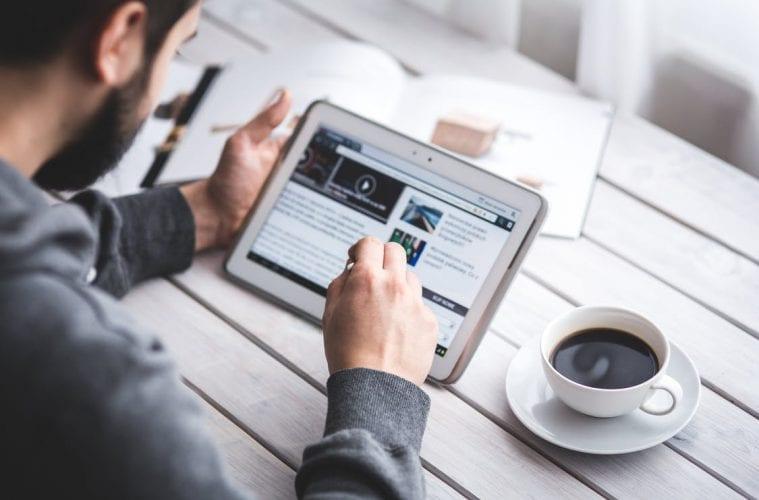 develop an online presence